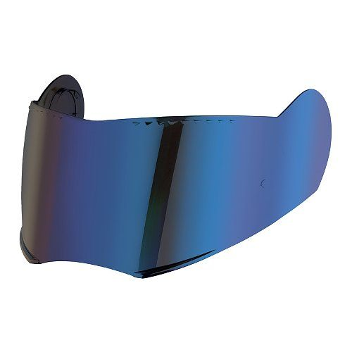 Image of S2/C3 VISOR BLUE MIRROR 60-65