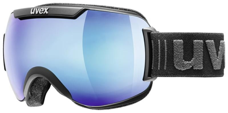 Image of GOGGLE DH 2000 BLACK/BLUE S2