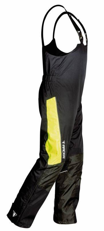 Image of # BIB PANTS FLEX BLK/FLUO X-SM