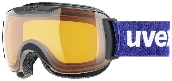 Image of GOGGLE DH 2000 RACE S BLACK