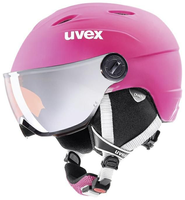 Image of HELMET JUN VISOR P PINK 52-54