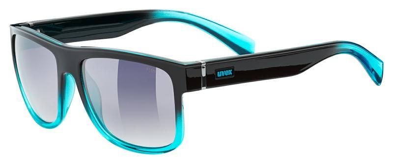 Image of GLASS LGL 21 BLACK TURQUOISE