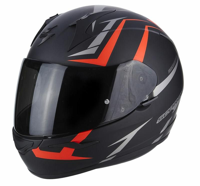 Image of EXO 390 HAWK BLACK/RED XS