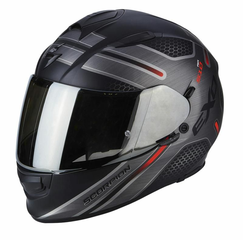 Image of EXO 510 ROUTE BLK/RED XS 1RD
