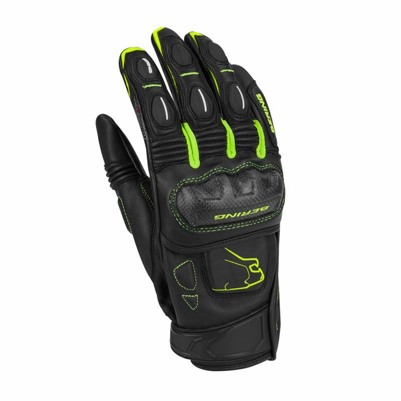 Image of BOOST-R GLOVE BLK/FLUO T8