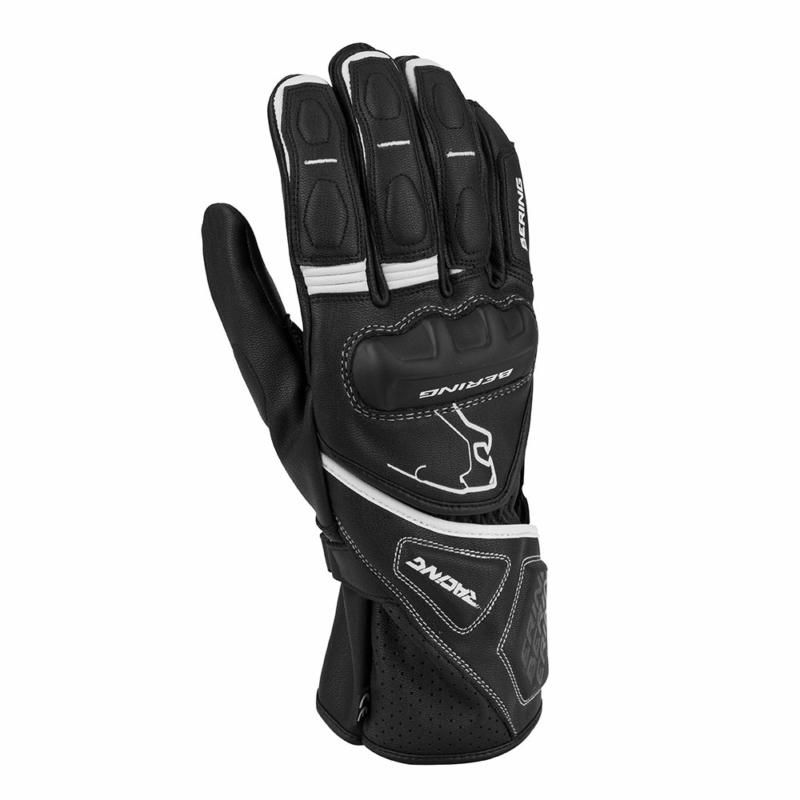 Image of # BERING RUN-R GLOVE BLK/WH T8