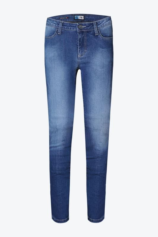 Image of PMJ SKINNY JEAN WOMAN BLUE 26