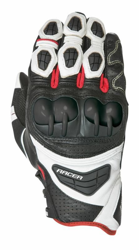 Image of SPRINT GLOVE BK/WH/RED SMALL