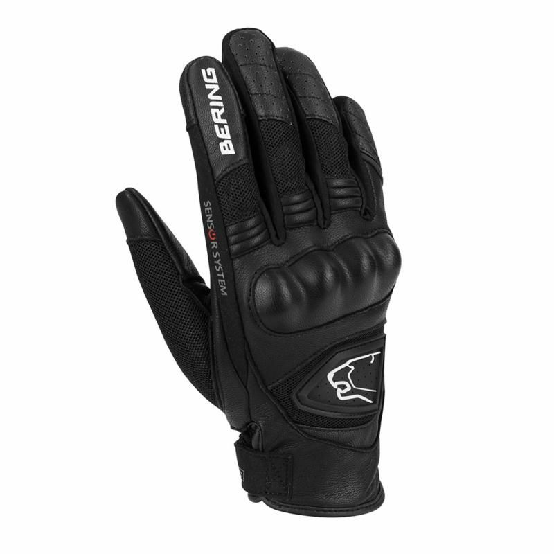 Image of LADY GINZA GLOVE BLK/WHT T5