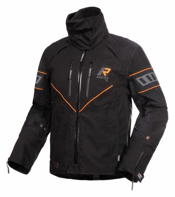 Image of NIVALA JACKET BLACK/ORANGE 46