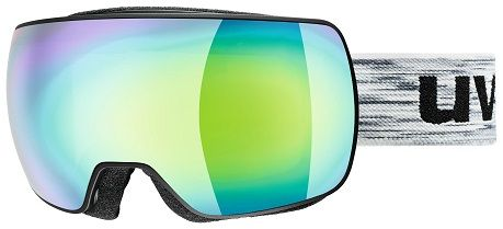 Image of GOGGLE COMPACT FM BLK/GREEN