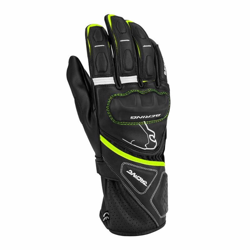 Image of BERING RUN-R GLOVE BLK/FLUO T8