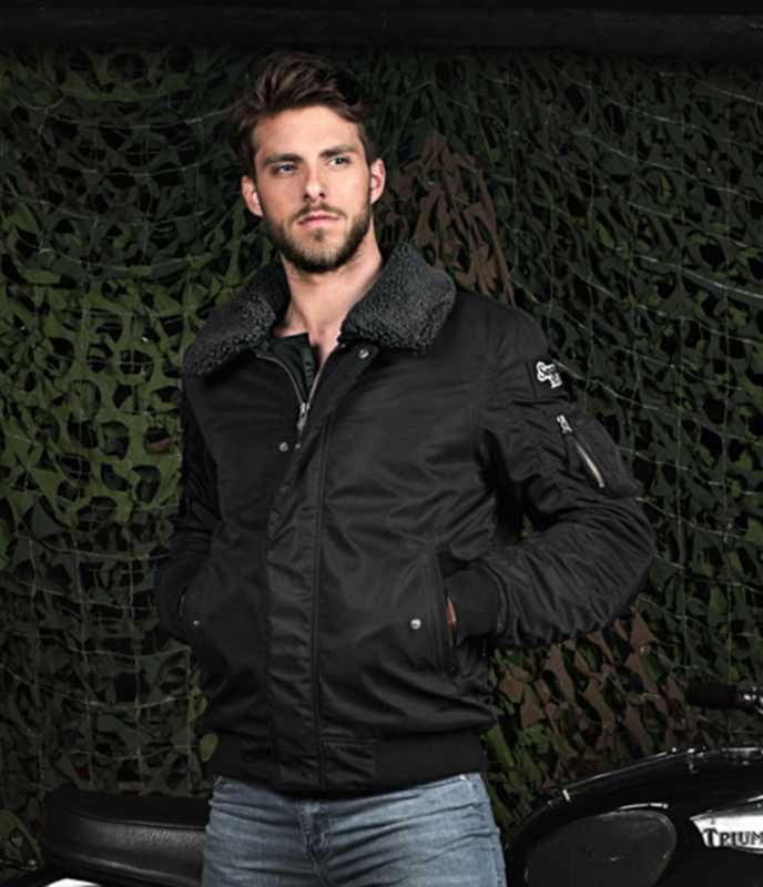 Image of # SEGURA MITCHELL JKT BLACK SM