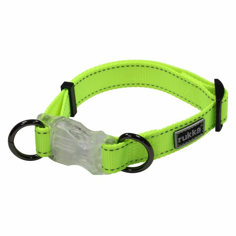 Image of NEON LIGHT COLLAR YELLOW XS