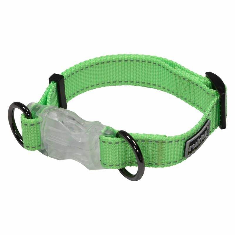 Image of NEON LIGHT COLLAR EMERALD XS