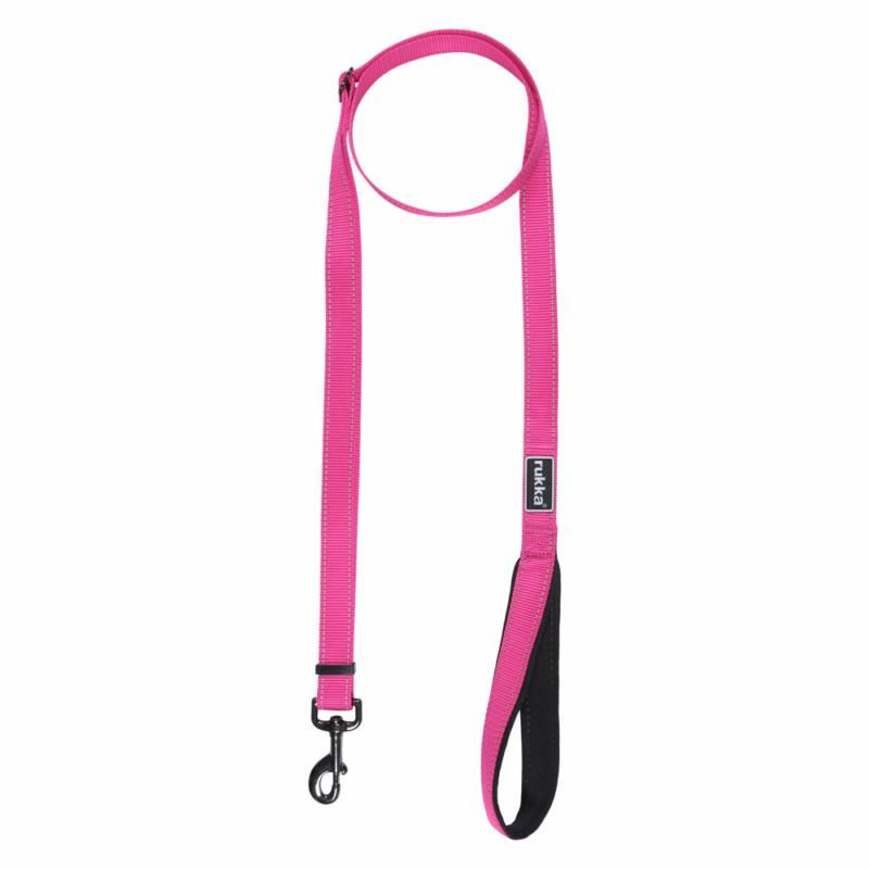 Image of BLISS LEASH 630 HOT PINK SML