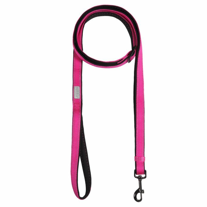 Image of SOLID LEASH 630 HOT PINK SML