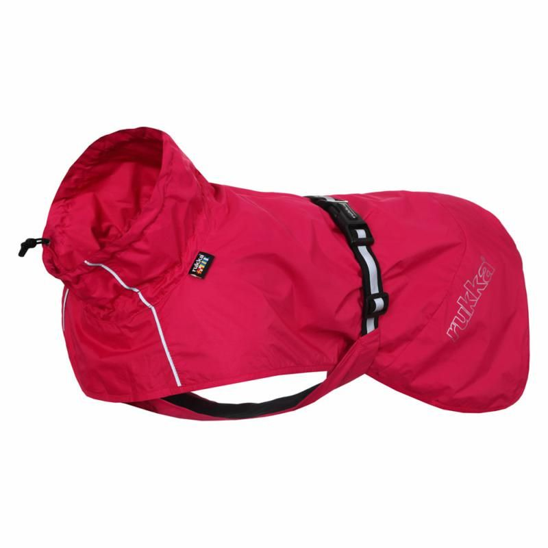 Image of HASE RAIN JACKET HOT PINK 25