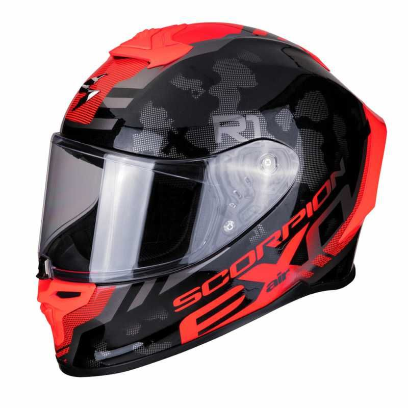 Image of EXO R1 AIR OGI BLK/RED XS