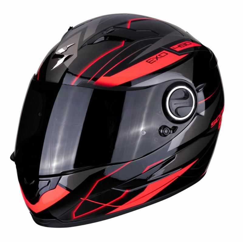Image of EXO 490 NOVA BLK/RED XS