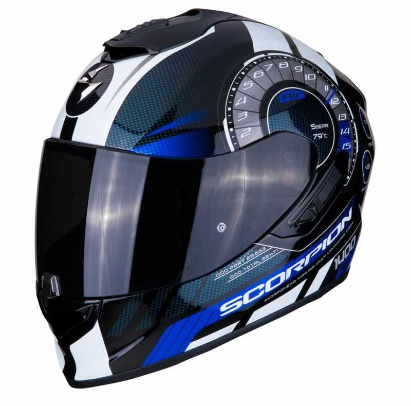 Image of EXO 1400 TORQUE BLK/BLUE XS