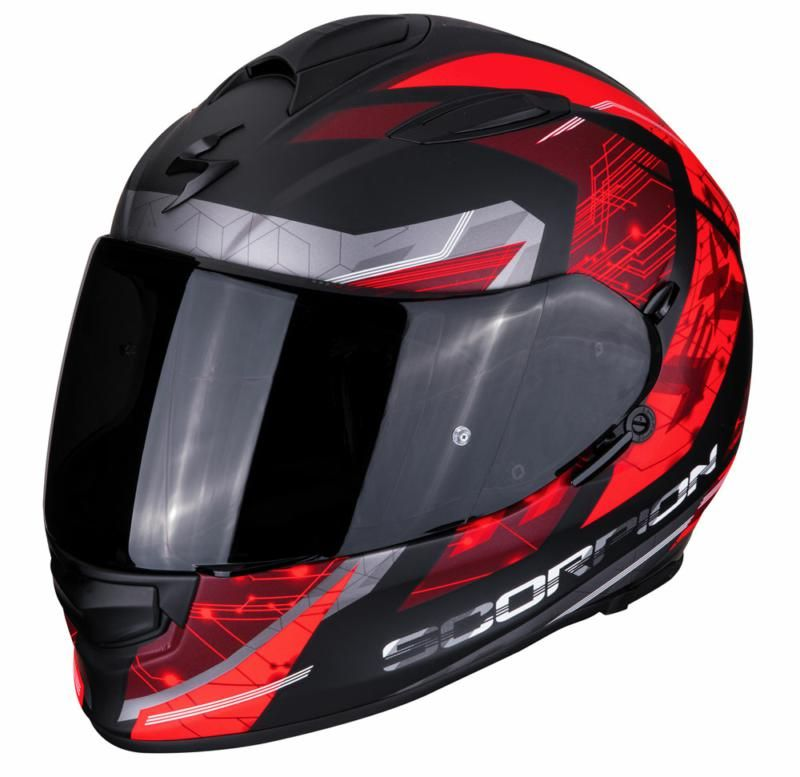 Image of EXO 510 CLARUS BLK/RED XS