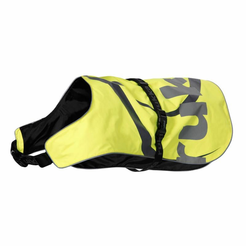 Image of FLAP SAFETY VEST YELLOW LARGE