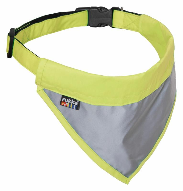 Image of FLIP SAFETY SCARF YELLOW LRG