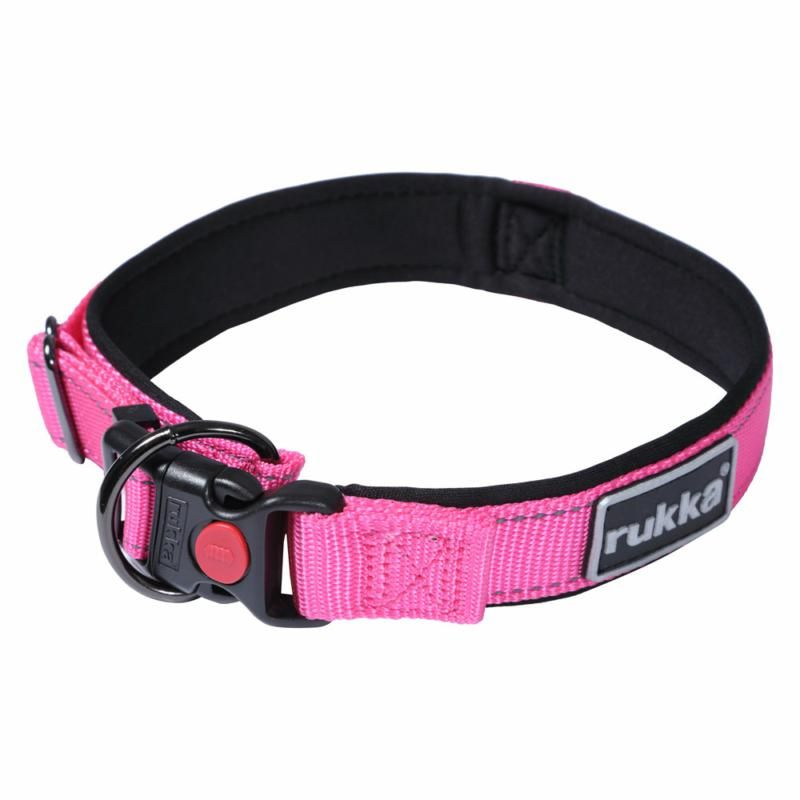 Image of SOLID COLLAR HOT PINK 630 XS