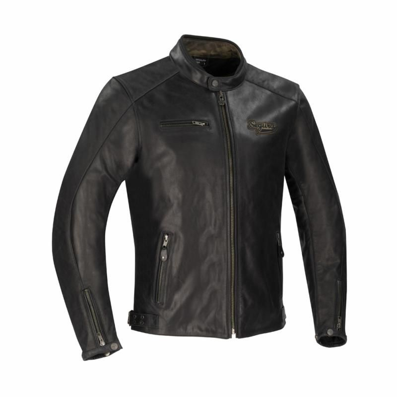 Image of # SEGURA CHESTER JACKET BLACK