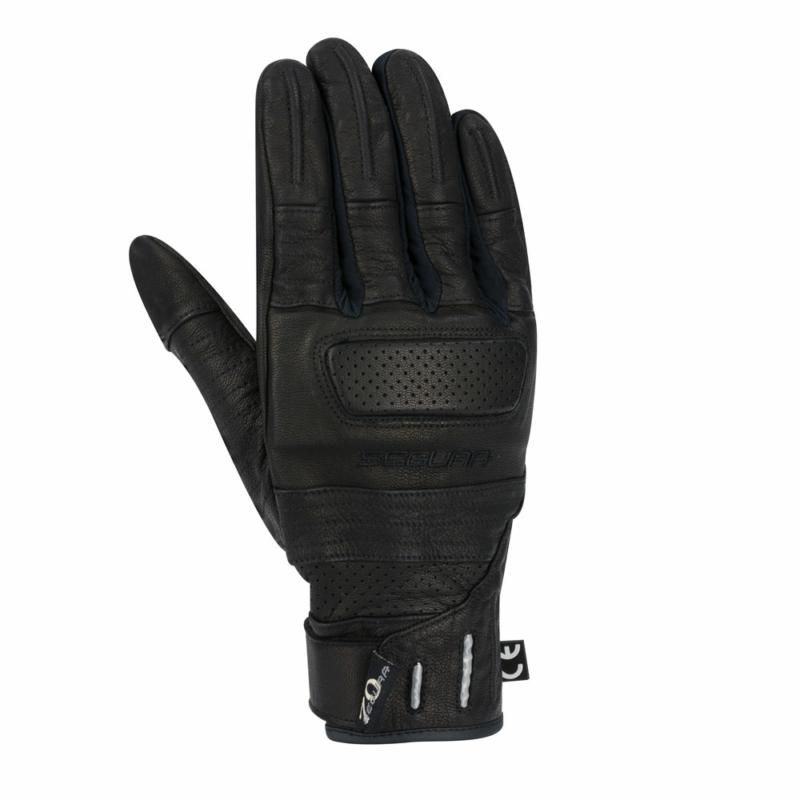 Image of HORSON GLOVE  BLACK/RED T8