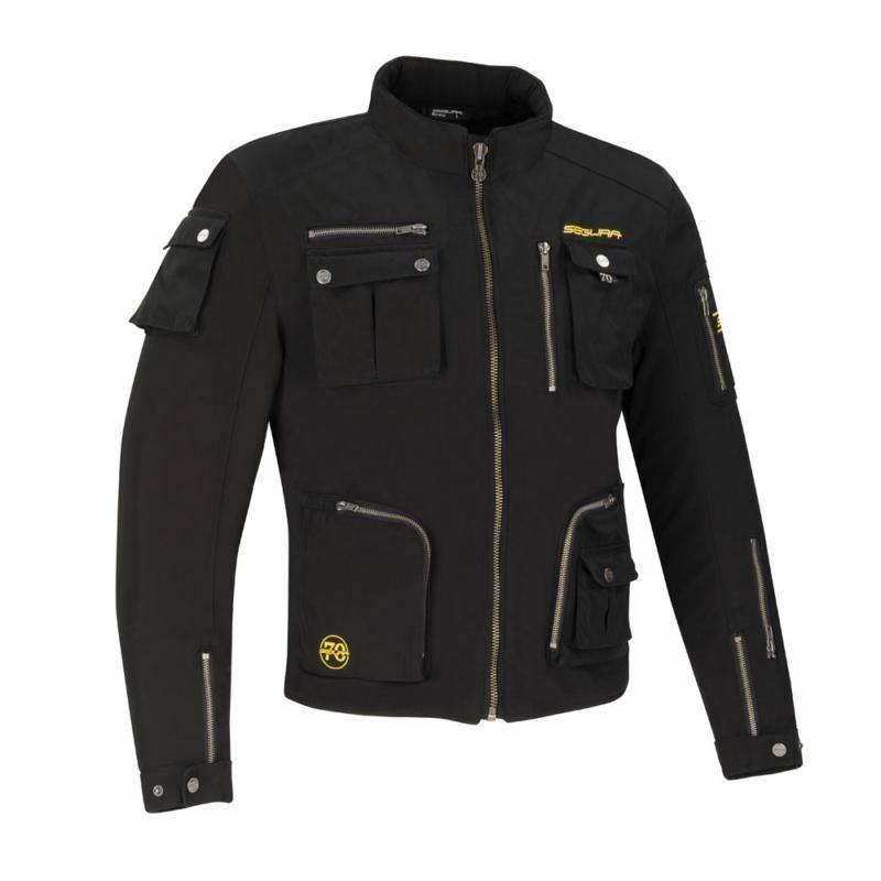 Image of SEGURA TAZER JACKET BLACK SM