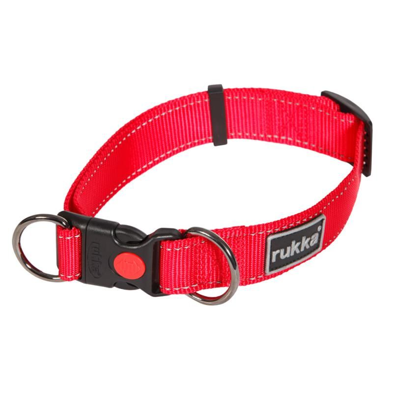 Image of BLISS COLLAR RED 650 LRG