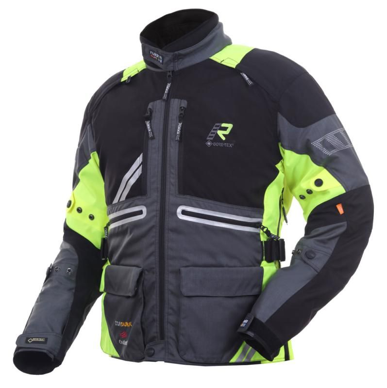 Image of ORIVESI 2.0 JACKET BLK/FLUO 50