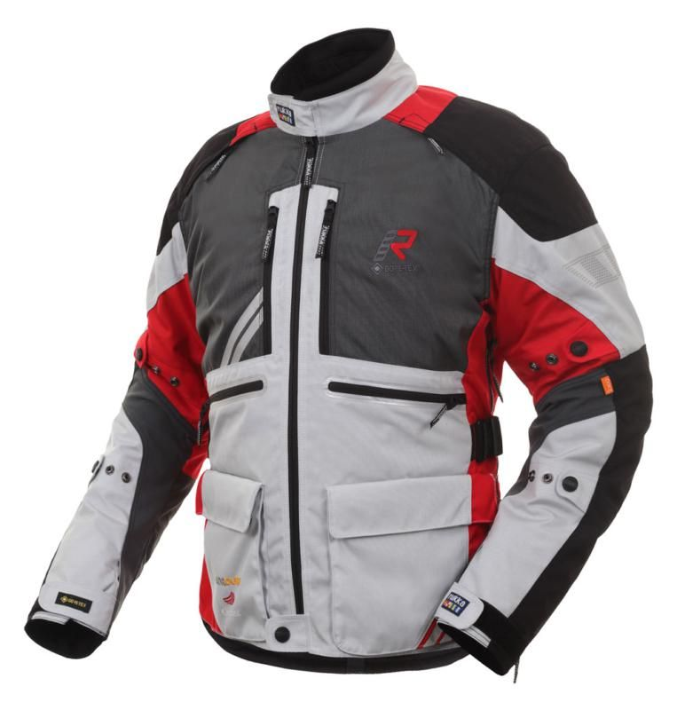Image of ORIVESI 2.0 JACKET SILV/RED 50