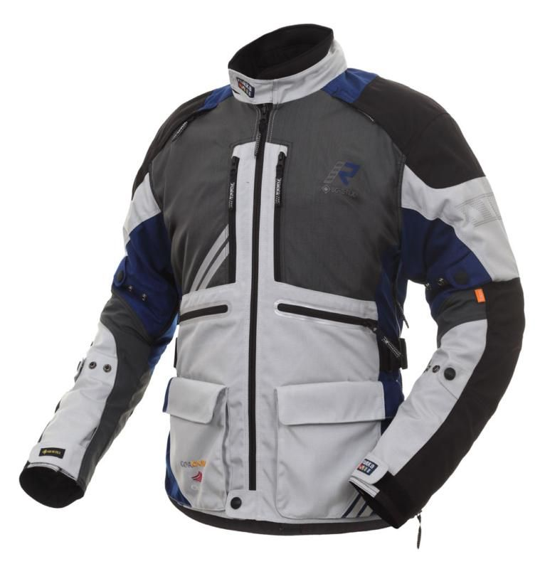 Image of ORIVESI 2.0 JACKET SIL/BLUE 50