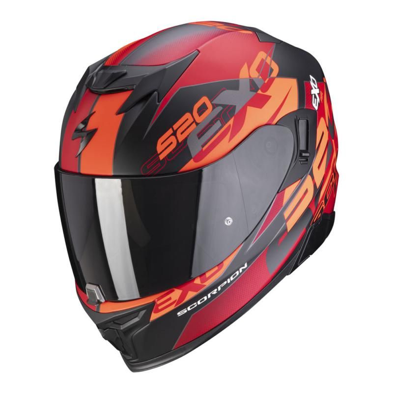 Image of EXO 520 AIR COVER BLK/RED XS