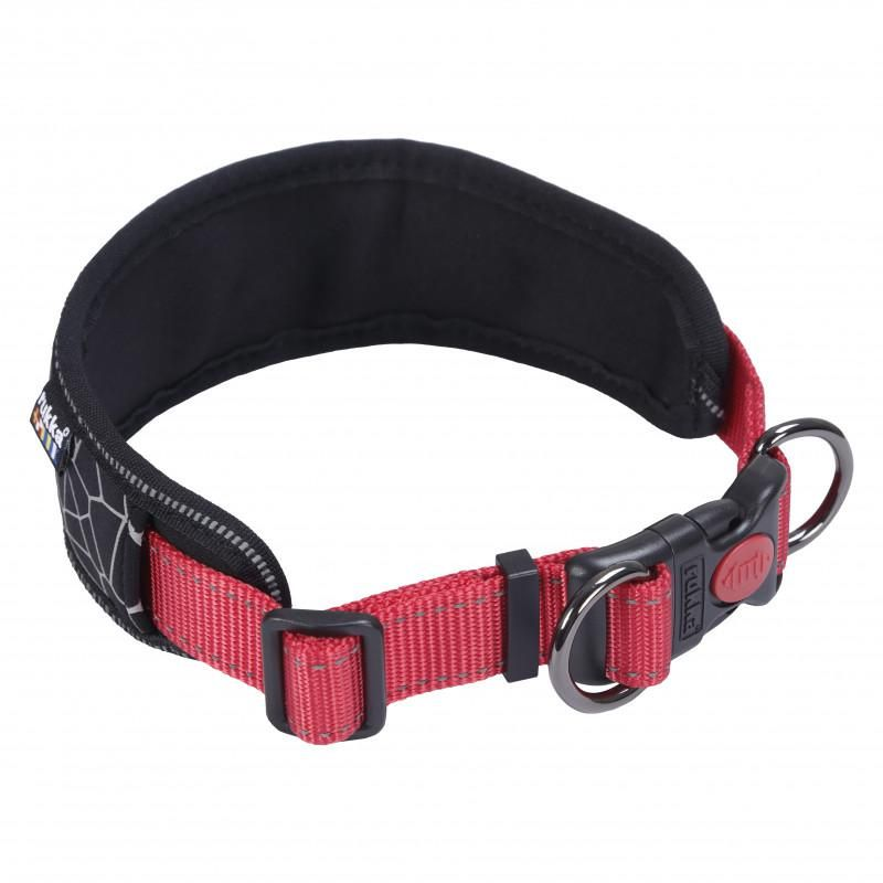 Image of CUBE SOFT COLLAR BLK/RED SMALL