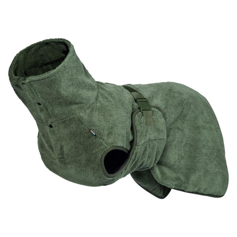 Image of MEDEA ECO BATHROBE GREEN LRG